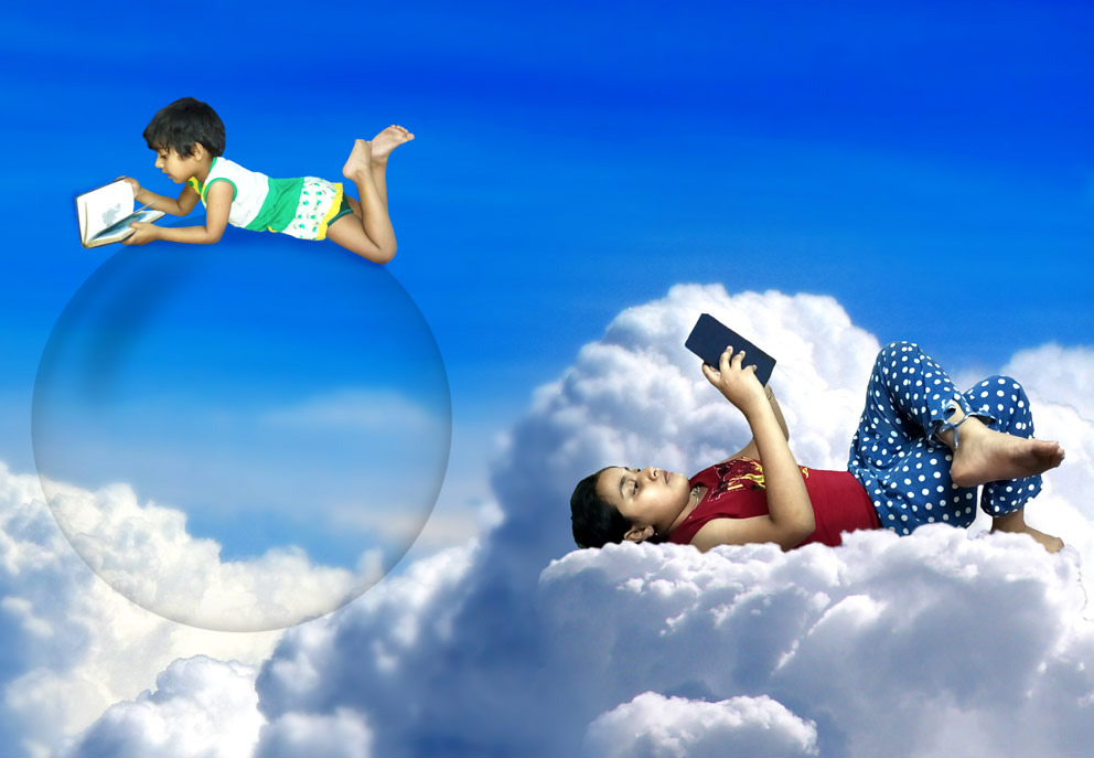 Child's Dream – A Photoshop Manipulation